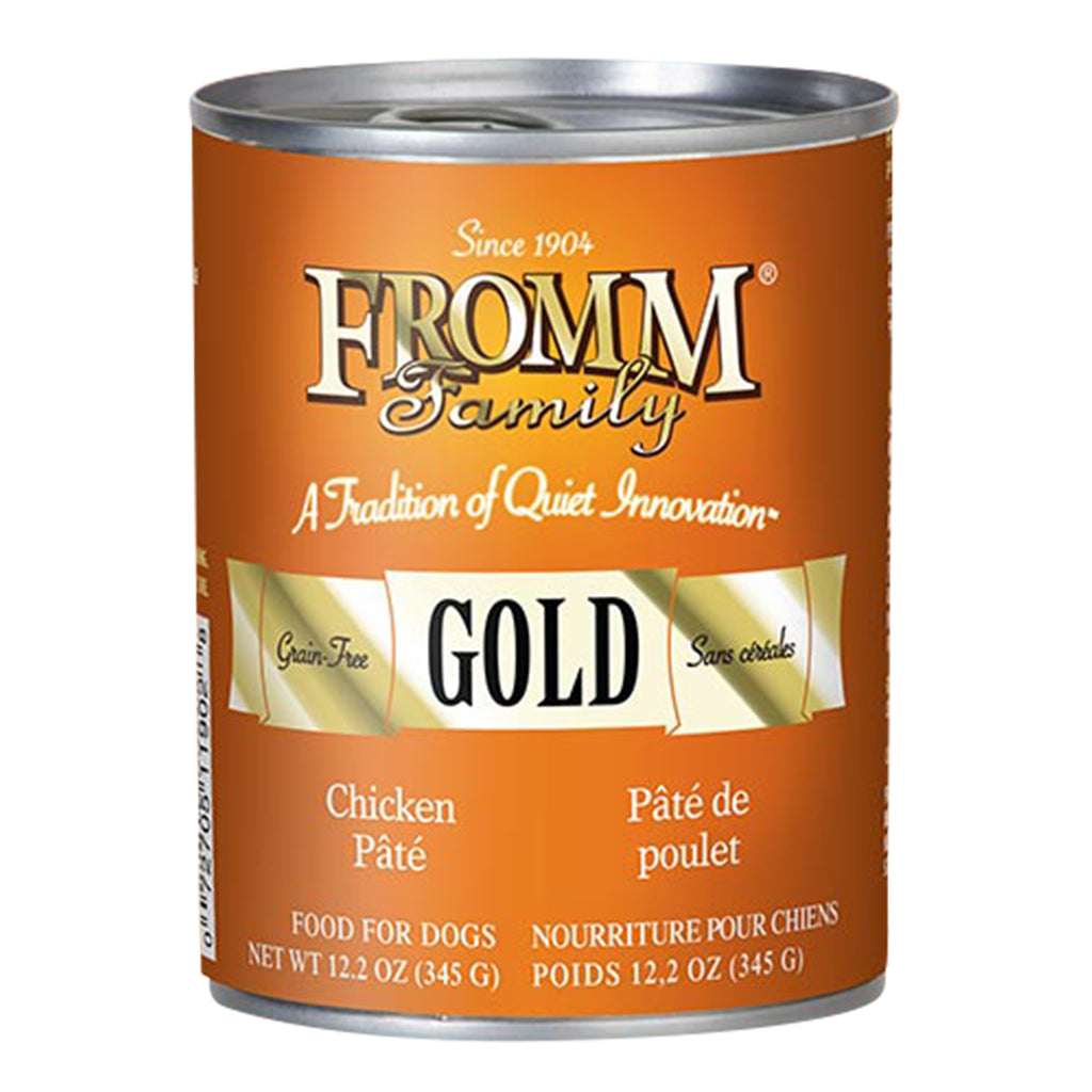 Fromm Gold Chicken Pâté Canned Dog Food