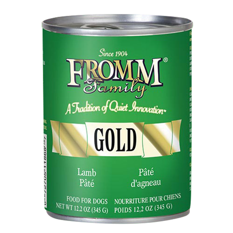 Fromm Gold Lamb Pâté Canned Dog Food