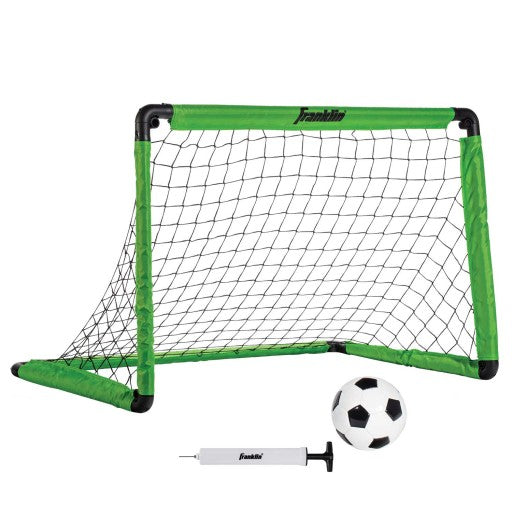 "FRANKLIN SOCCER GOAL INSTA SET - PUMP AND BALL INCLUDED - 36"" X 24"" X 24"""