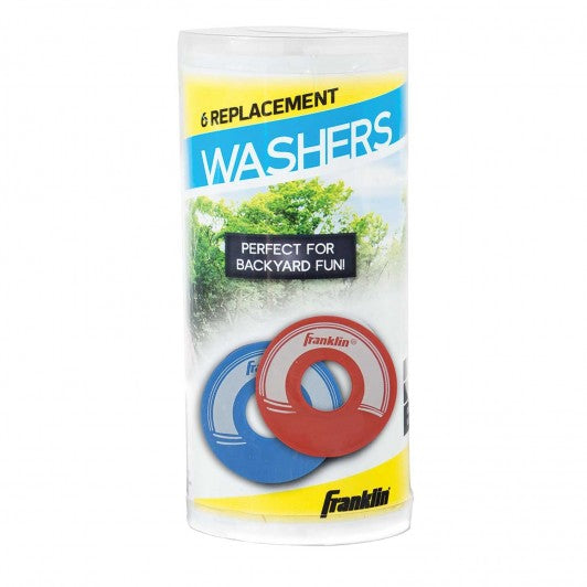 FRANKLIN REPLACEMENT WASHERS 6 PACK