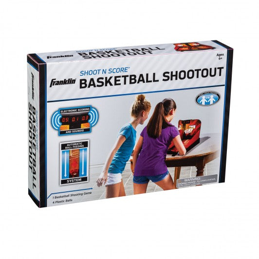 FRANKLIN ARCADE BASKETBALL SHOOT N SCORE SHOOTOUT