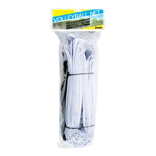FRANKLIN VOLLEYBALL NET WITH STEEL CABLE