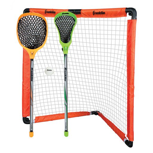 FRANKLIN YOUTH LACROSSE SET - INSTA-SET GOAL AND STICKS