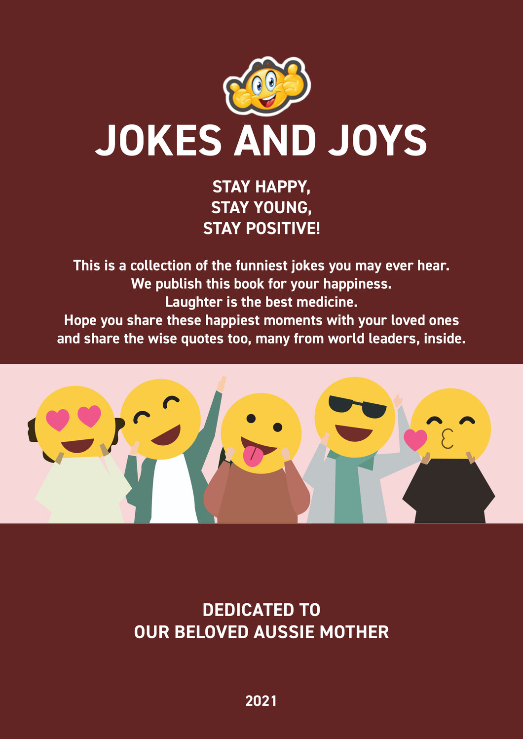 Jokes and Joys Book - Laughter is the Best Medicine