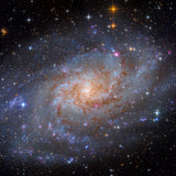 M33 The Triangulum Galaxy photographed by J K Lovelace using a Planewave CDK14 telescope