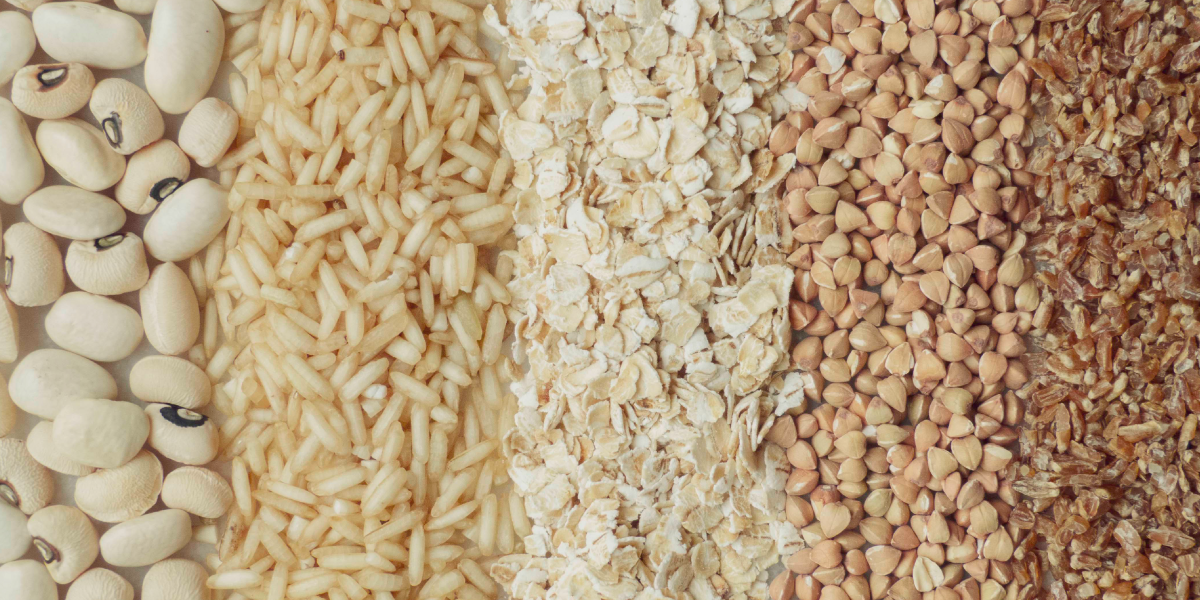 The average Indian gets most of their calories from grains