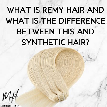 What is Remy hair and what is the difference between this and synthetic hair?