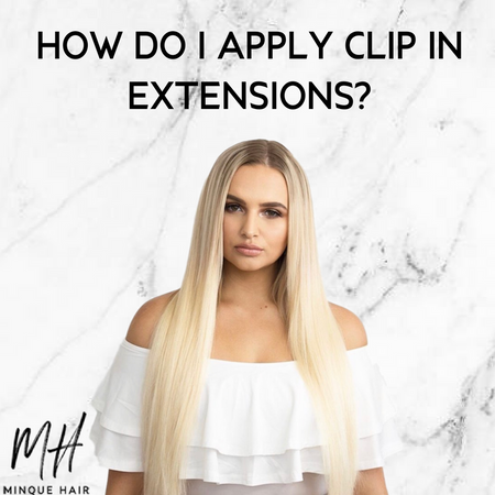 How do I apply clip in extensions?