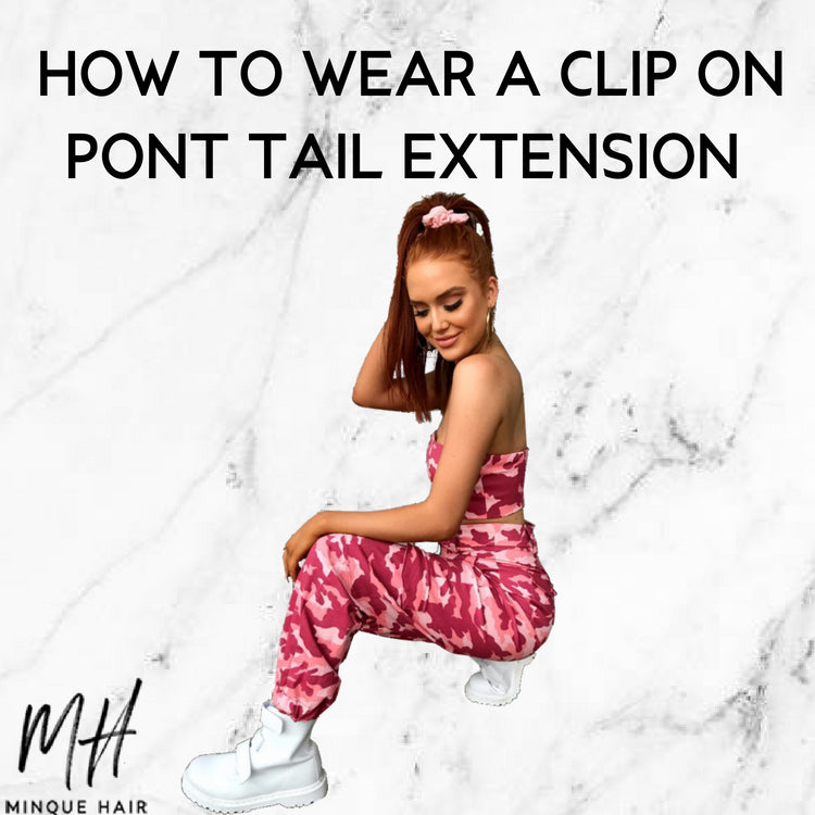 How To Wear A Clip-On Ponytail Extension