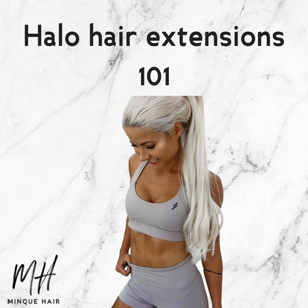 Halo Hair Extensions 101