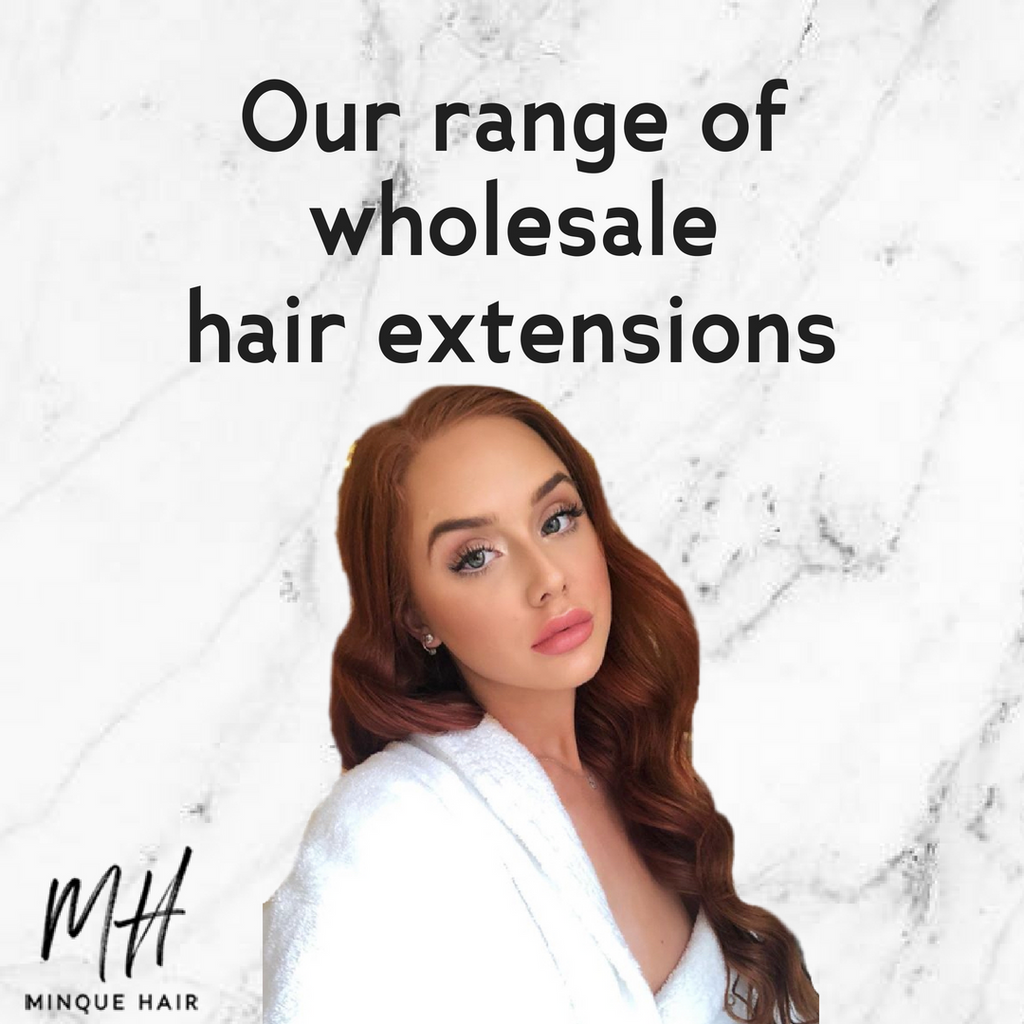 Our Range of Wholesale Hair Extensions in Australia