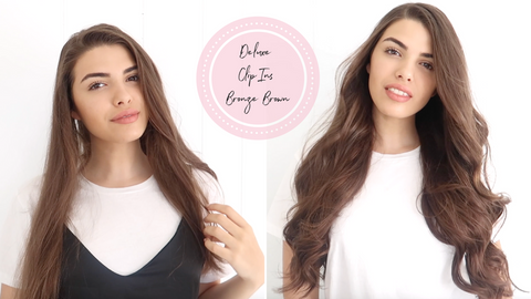 Deluxe Clip In Hair Extensions | Celebrity Hair Extensions