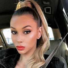 Holly bell clip in ponytail hair extensions | best quality clip in ponytail hair extensions | easy to apply clip in ponytail extensions