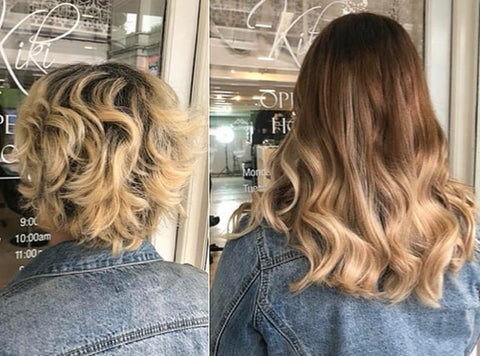 micro bead hair extensions for long and thick hair | best hair extensions for short hair types | remy hair extensions