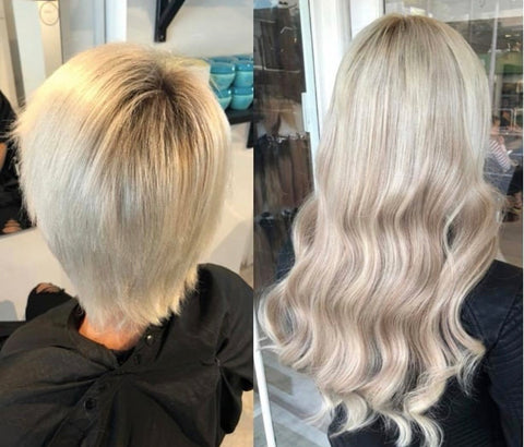 best blonde hair extensions for long and thick hair | blonde hair extensions available online | remy hair extensions | hair extensions for short hair