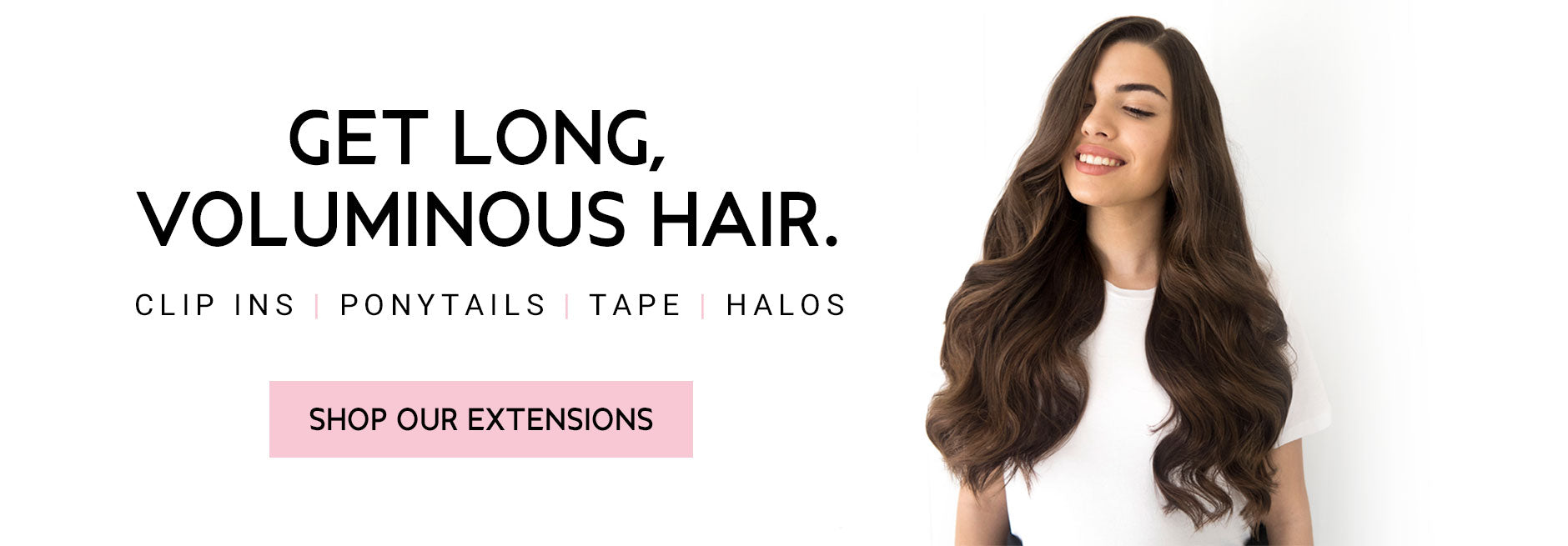 Hair Extension Clip In Halo Tape Weft Ponytail Hair Extensions