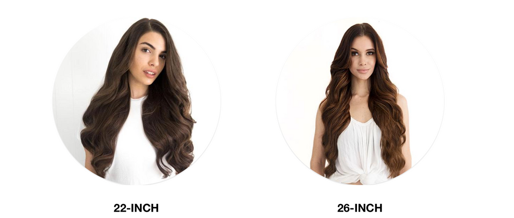 Minque Hair Extensions Length Options