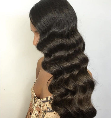 Finger wave curls | great gatsby curls | best quality hair extensions for long hair