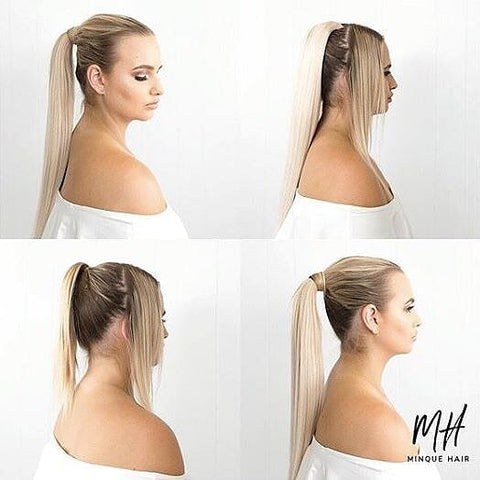 Minque ponytail hair extensions are among our most popular products.