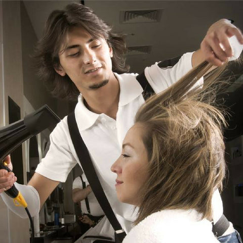 Blow-drying the top part of your hair is one of the ways we, at Minque hair, suggest to add volume to your hair.