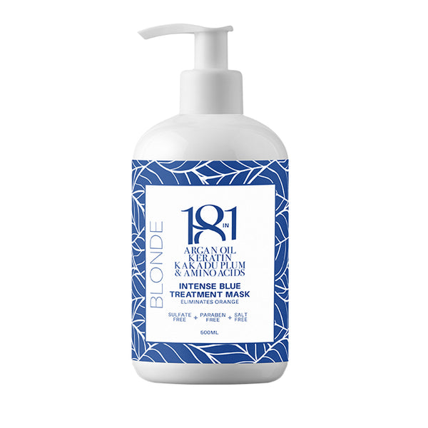 18 In 1 Blonde Intense Blue Treatment Mask 500ml