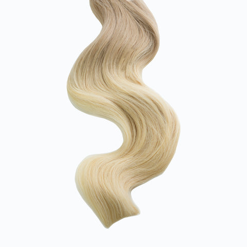 caramel swirl #12/613 tape hair extensions 20inch 80pcs - two full heads