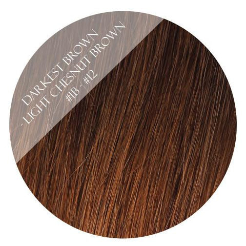 caramello haze #3-12 balayage tape hair extensions 20inch 80pcs - two full heads