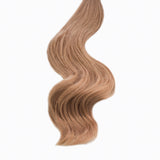 strawberry blonde #18 tape hair extensions 4 remi human hair minque hair extension