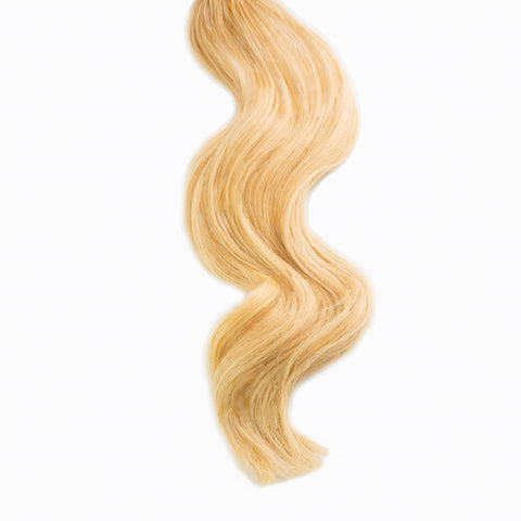sunkissed blonde #24 weft hair extensions 26inch deluxe