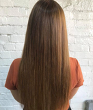Golden Brown #6 Clip In Hair Extensions 22-inch