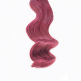 Berry #99J tape hair extensions 4 remi human hair minque hair extension