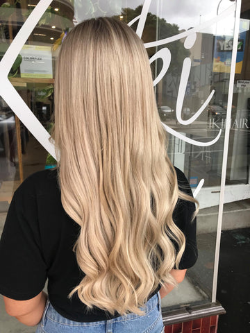 Shani grimmond ponytail hair extensions | best quality hair extensions | best clip in ponytail hair extensions for long hair | ponytail hair extensions available on payment plans
