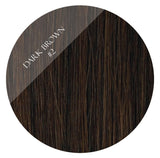 espresso brown #2 clip in hair extensions 26inch deluxe
