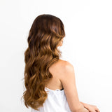 Golden Brown #6 Tape Hair Extensions 20-inch