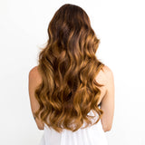 Golden Brown #6 Tape Hair Extensions 26-inch
