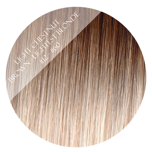 coconut grove #12-60 balayage tape hair extensions 20inch 80pcs - two full heads