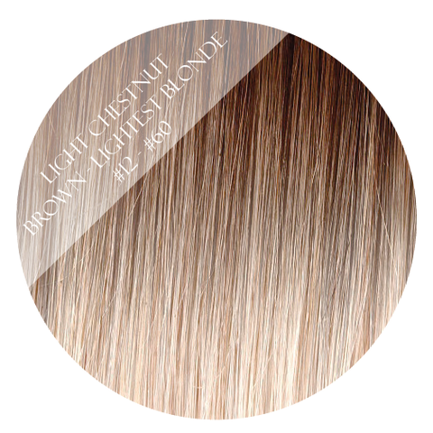 coconut grove #12-60 balayage halo hair extensions 20inch deluxe