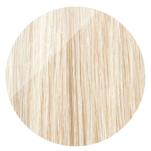 Vanilla Blonde #60 Tape Hair Extensions 20inch 80pcs - Two Full Heads, Blonde Hair Extensions, Tape Hair Extensions, Russian Hair Extensions, Remy Hair Extensions, Human Hair Extensions, Natural Hair Extensions