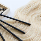 Malibu Blonde #613 Weft Hair Extensions 20-inch
