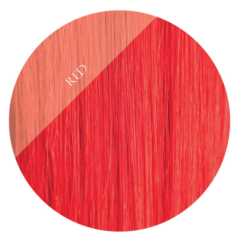 scarlette red fusion hair extensions 20inch 200pcs - two full heads