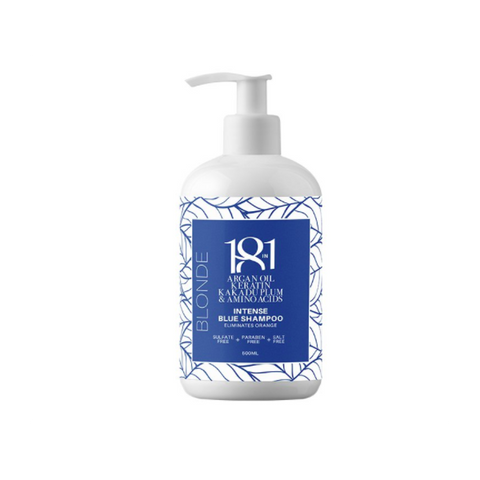 18 In 1 Blonde Intense Blue Shampoo 500ml