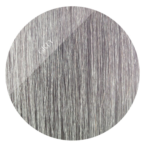 grey storm clip in hair extensions 22inch deluxe