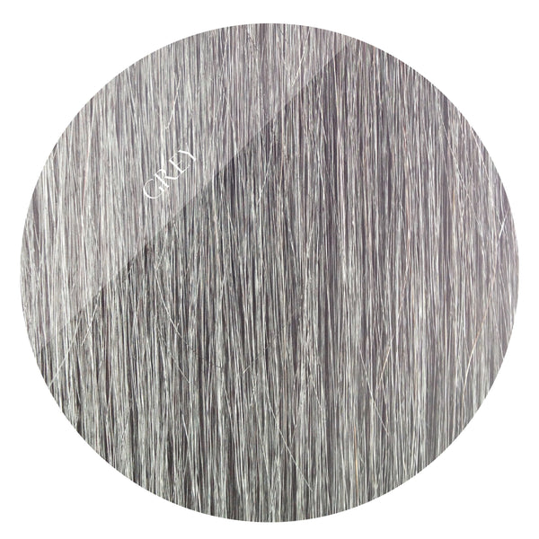 grey storm weft hair extensions 20inch deluxe