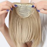Clip On Keratin Fringe
