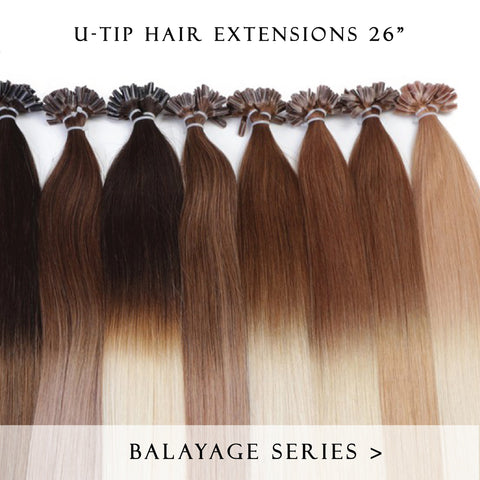 choc vanilla #3-60 fusion hair extensions 26inch 200pcs - two full heads