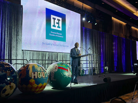 Mayor Sylvester Turner, Hispanic Chamber of Commerce 2021 Annual Luncheon and Business Expo