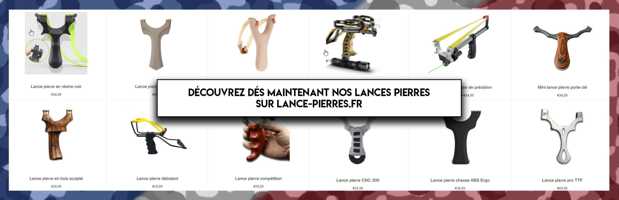 Collection lance pierre