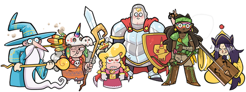 A group image of the heroes we deserve