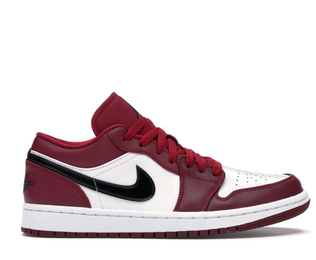 JORDAN 1 LOW NOBLE RED
