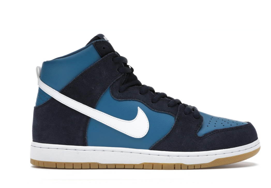 NIKE SB DUNK HIGH INDUSTRIAL BLUE
